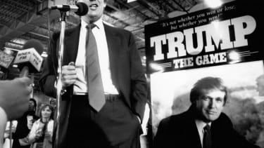 President Trump's rise.