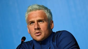 U.S. swimmer Ryan Lochte issued an apology for his behavior in Rio de Janeiro.