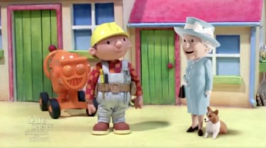 Bob the Builder cannot fix the British royal family