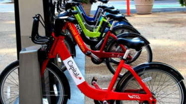 Bike-sharing programs are taking off across the country, just one example of how our economy is shifting to one built around peer-to-peer marketplaces.