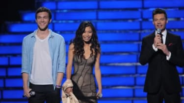"The ""American Idol"" finalists"