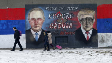Grafitti in Belgrade, Serbia.