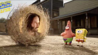 Keanu Reeves Spongebob Movie.
