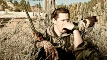 In his book Meat Eater: Adventures from the Life of an American Hunter, Steven Rinella tells tales of his adventures in the wilderness.
