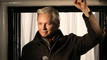 Julian Assange may walk at London Fashion Week