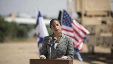 Candy Crowley presses Susan Rice: 'Did the U.S. negotiate with terrorists?'