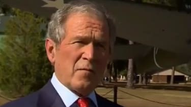 George Bush defends alleged torturers: 'These are patriots'