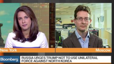 Russia on Trump.
