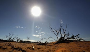 Australia is threatened by climate change