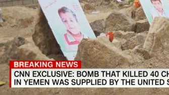 Saudi school bus bombing in Yemen used U.S.-made weapon, CNN reports.