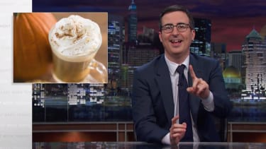 John Oliver waxes poetic in his takedown of all things 'pumpkin spice'