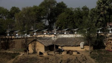 A village in India now runs entirely on its own solar power grid