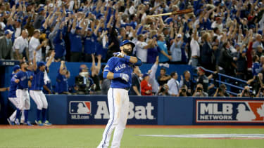 Was Jose Bautista wrong to flip the bat?
