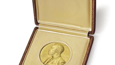 A DNA co-discoverer is auctioning his Nobel Prize medal