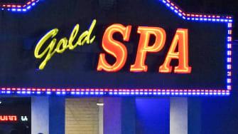 Gold Spa in Atlanta.