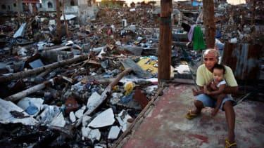 Philippines typhoon recovery