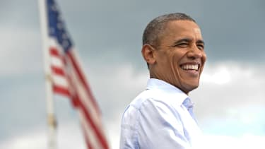 President Obama is gaining support at the end of his second term.