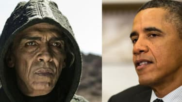 Regardless of your political leanings, you must admit: The resemblance is uncanny.