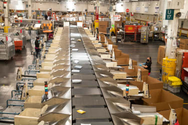 USPS processing plant