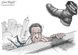 Political Cartoon U.S. cuomo nursing homes covid