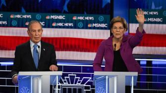 Elizabeth Warren and Mike Bloomberg.