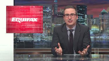 John Oliver excoriates Equifax