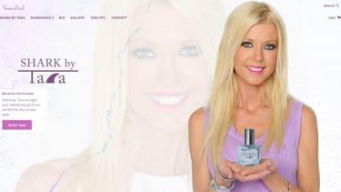 Tara Reid debuts her Sharknado-inspired perfume