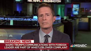 Washington Post reporter Greg Miller on MSNBC