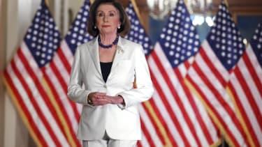Nancy Pelosi in Washington