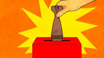 A bomb vote.