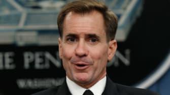 Pentagon Press Secretary Rear Adm. John Kirby.