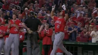 Watch Albert Pujols join the 500 home run club with this bomb