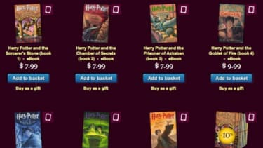 """Digital publishing had its """"Beatles moment"""" Tuesday, when the Harry Potter novels became available as ebooks for the first time."""