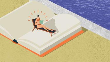 A beach book.