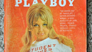 A vintage playboy: A few of the military's finest have been caught surfing porn websites on government computers.