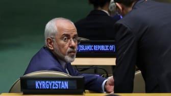 Mohammad Javad Zarif Khonsari, the foreign minister of Iran.