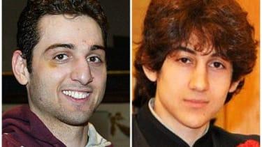Tamerlan Tsarnaev, 26, left, and Dzhokhar Tsarnaev, 19.
