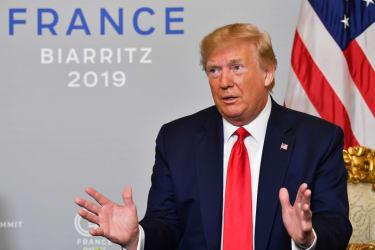 Trump talks at G-7 summit