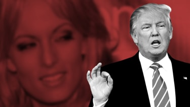 President Trump and Stormy Daniels.