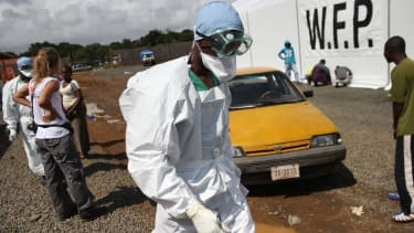 Liberian president begs Obama for help combating Ebola outbreak