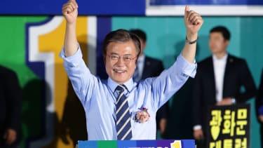 Moon Jae-in, frontrunner for South Korean president