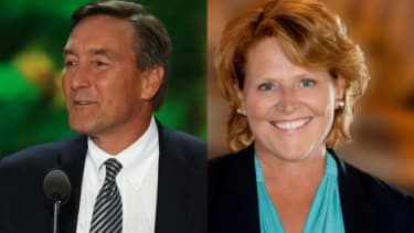 Heidi Heitkamp, North Dakota's former attorney general, is giving Republican Rick Berg a real run for his money in the Peace Garden State.