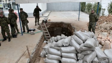 A WWII bomb is defused in Greece
