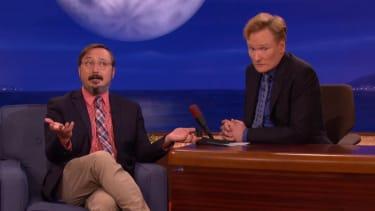 John Hodgman discusses starting to smoke weed at age 43
