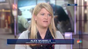Alex Wubbles talks to NBC Today