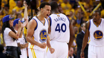 Golden State Warriors beat Cleveland in Game 1 of NBA finals