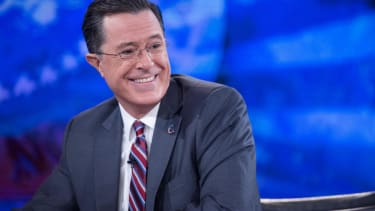 Watch this delightful supercut of all the times Stephen Colbert broke character on The Colbert Report