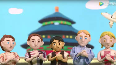 Cute claymation videos from China.
