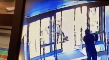 Anti-Asian assault captured on camera
