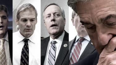 Robert Mueller and Trump allies.